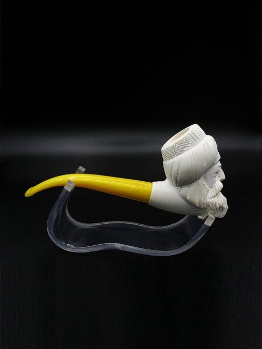 ottoman man meerschaum pipe 2 510x680 - Ottoman Man Meerschaum Pipe