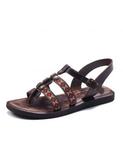 stitched leather sandals 1 247x296 - Stitched Leather Sandals