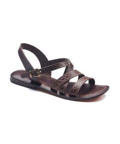 strapped leather sandals 1 247x296 - Strapped Leather Sandals For Women