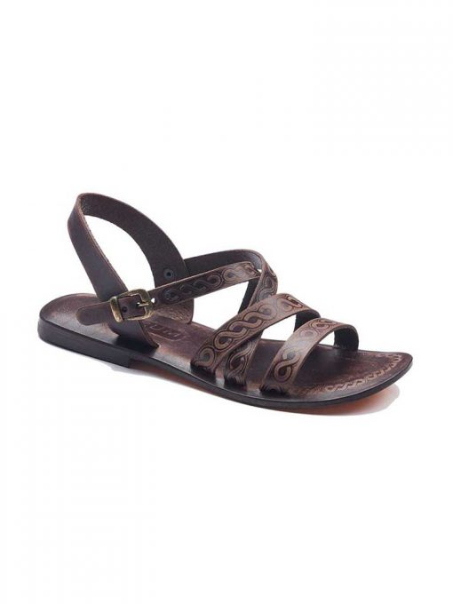 strapped leather sandals 1 510x680 - Strapped Leather Sandals