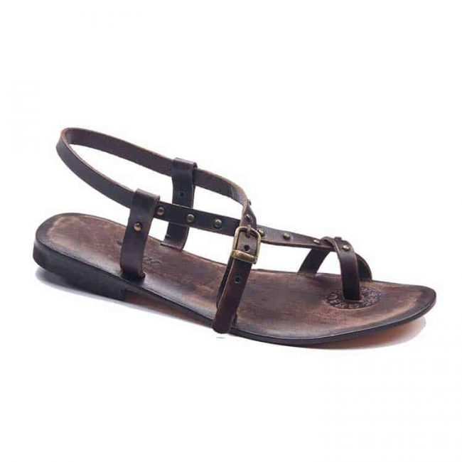 street style leather sandals 1 650x650 - Street Style Leather Sandals
