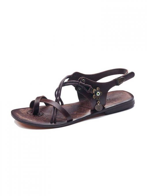 stylish handmade leather sandals 3 510x680 - Stylish Womens Leather Sandals