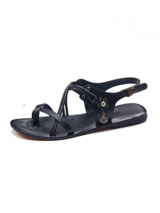 stylish handmade leather sandals 4 510x680 - Stylish Womens Leather Sandals