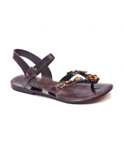 summer leather sandals 2 247x296 - Summer Leather Sandals