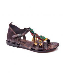 trendy leather sandals 1 247x296 - Trendy Leather Sandals