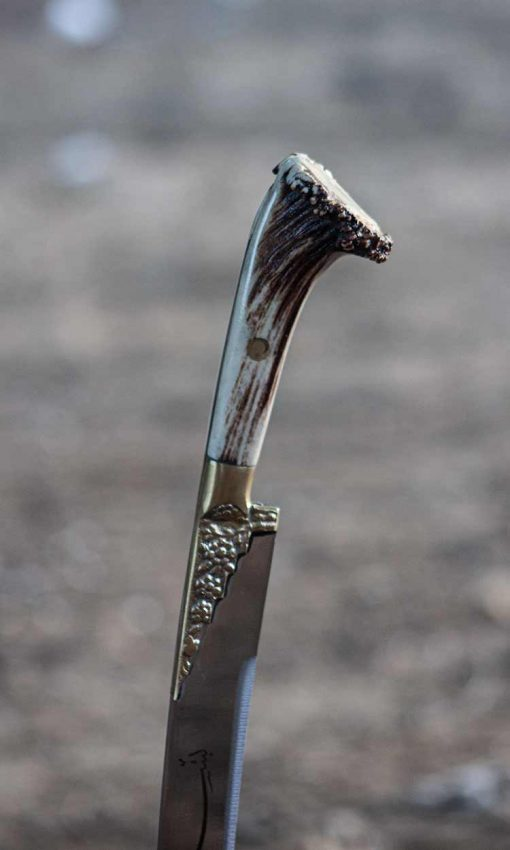 Ram Horn Yataghan Sword For Sale 9 510x850 - Ram Horn Yataghan Sword