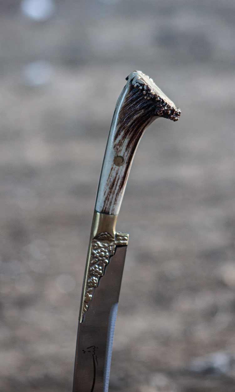 Ram Horn Yataghan Sword For Sale 9 - Ram Horn Yataghan Sword