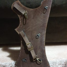 Handmade Leather Archery Quiver Blue photo review