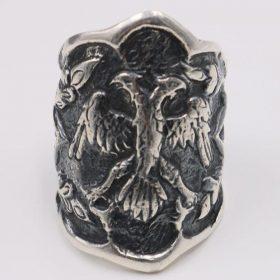 Custom Design Mens Silver Ring Ertugrul Ring photo review