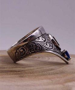 Cool Archery Silver Mens Ring 1 247x296 - Cool Archery Silver Mens Ring