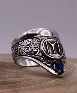 Cool Archery Silver Mens Ring 2 247x296 - Sword