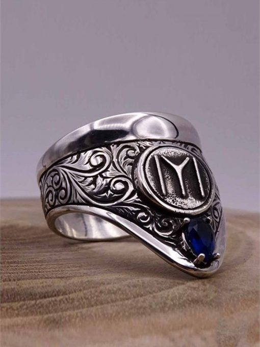 Cool Archery Silver Mens Ring 2 510x680 - Cool Archery Silver Mens Ring
