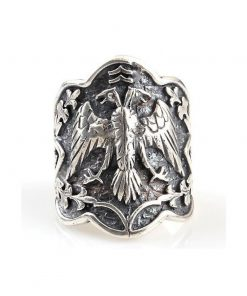 Custom Design Silver Ring 1 247x296 - Custom Design Mens Silver Ring Ertugrul Ring