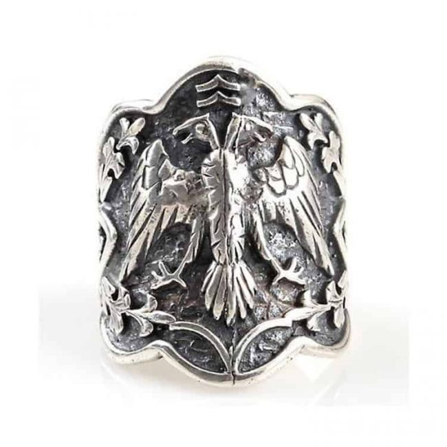 Custom Design Silver Ring 1 650x650 - Custom Design Mens Silver Ring Ertugrul Ring