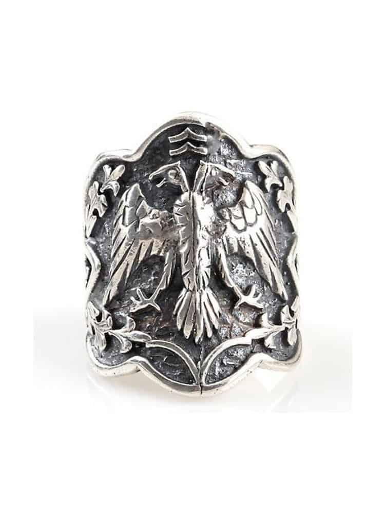 Custom Design Silver Ring 1 - Custom Design Mens Silver Ring Ertugrul Ring