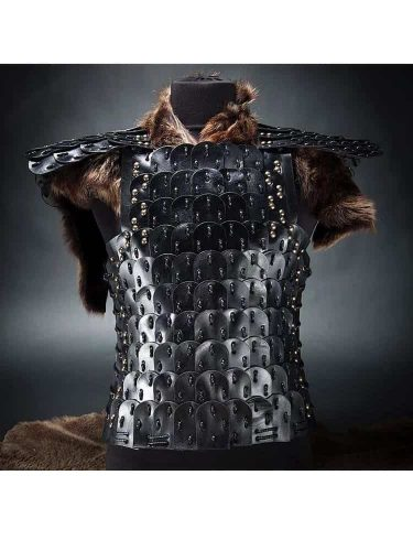 Handmade Leather Armor Black photo review