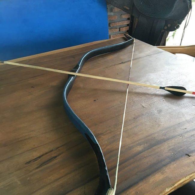 Handmade Archery Set Bow Arrows