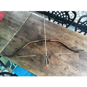 Handmade Archery Set Bow Arrows Decorative (3)