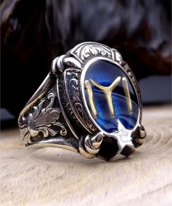 Kayi Tribe Silver Mens Ring 1 247x296 - Sword
