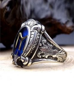 Kayi Tribe Silver Mens Ring 2 247x296 - Sword