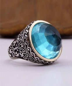 Turquoise Silver Mens Ring 247x296 - Home