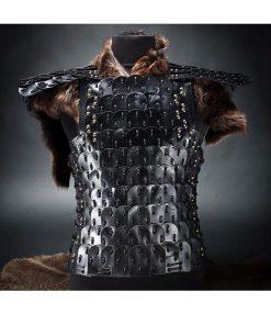 WhatsApp 247x296 - Handmade Leather Armor Black