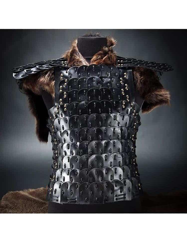 WhatsApp - Handmade Leather Armor Black