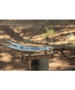 buckhorn handle zulfikar sword 3 247x296 - Sword