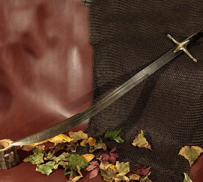 Damascus Steel Swords Hand Forged 1 650x584 - Damascus Steel Swords Hand Forged