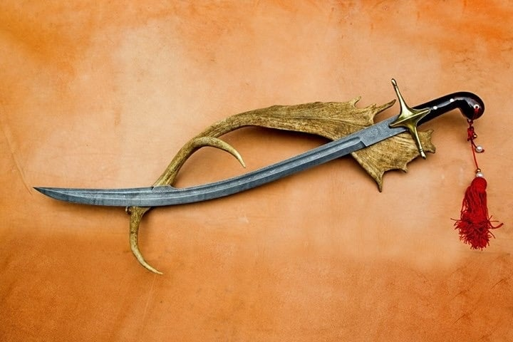 Damascus Steel Swords Hand Forged 2 1 - Damascus Steel Swords Hand Forged