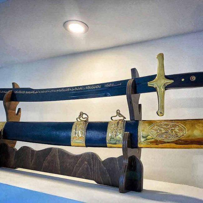 Mehmet The Conqueror Aged Replica Sword Battle Ready 1 1 650x650 - Mehmet The Conqueror Aged Replica Sword Battle Ready