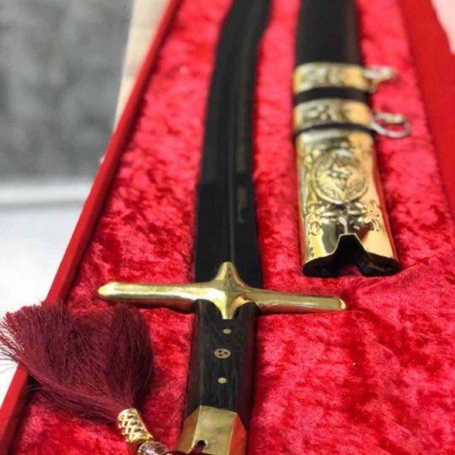 Mehmet The Conqueror Aged Replica Sword Battle Ready