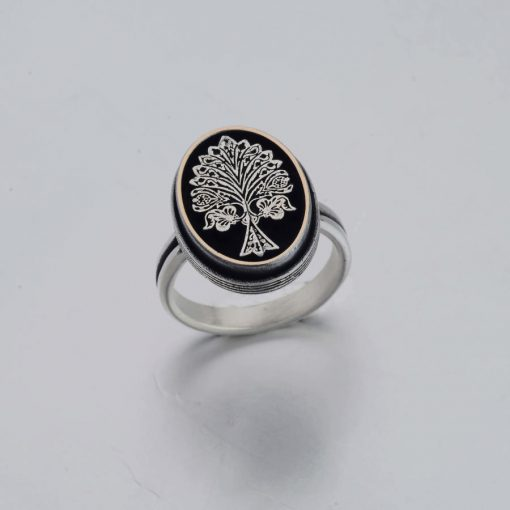 Resurrection Dirilis Ertugrul Series Ilbilge Tree of Life Ring Accessory