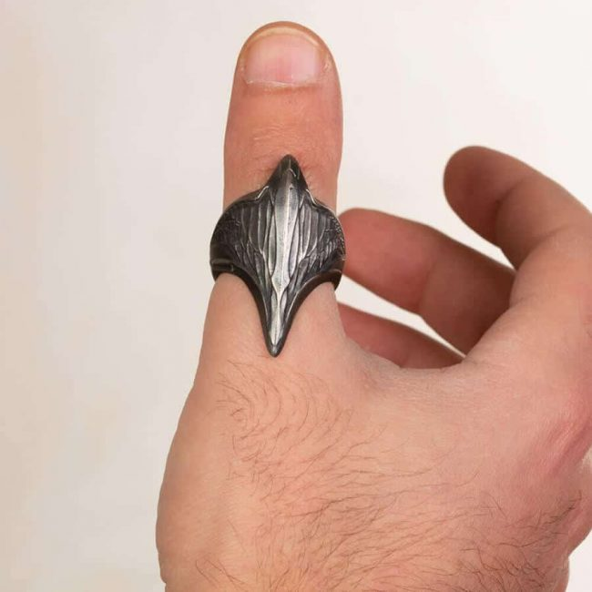 Resurrection Ertuğrul Series New Dirilis Armor Head Archer Ring