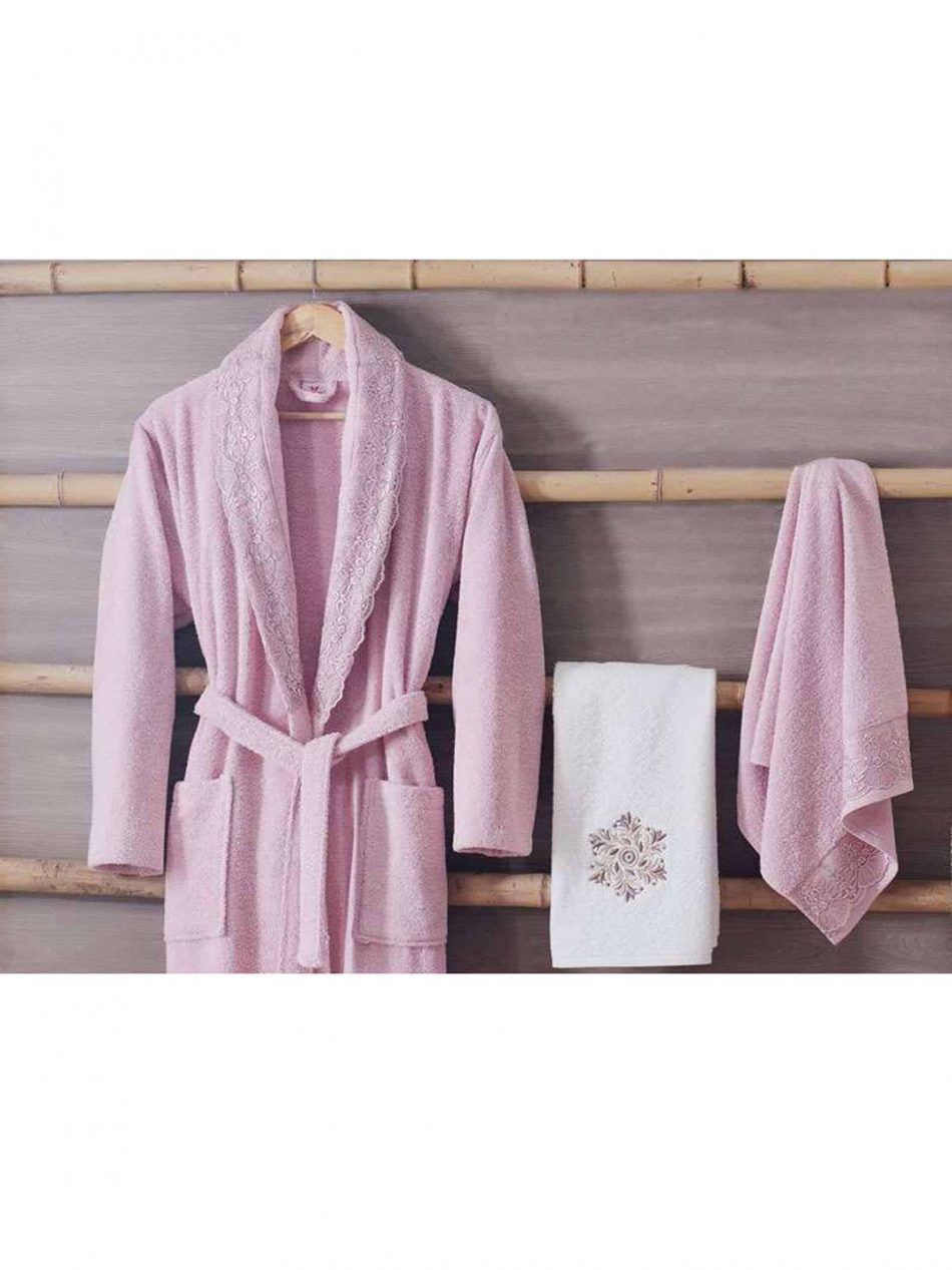 terry cloth robes womens mens online 2 scaled 950x1267 - White Pink Turkish Cotton Robes