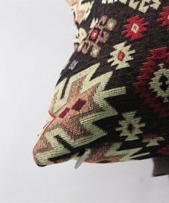 Brown Beige Rug Pillow Turkish Kilims Pillows Case