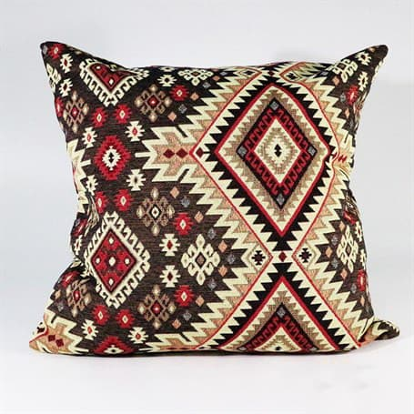 Brown Beige Rug Pillow Turkish Kilims Pillows Case
