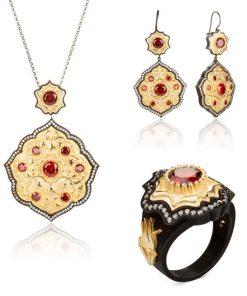 Payitaht Abdülhamid Series Bidar Sultan Jewelry Set