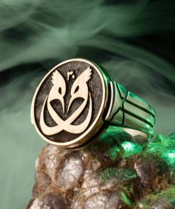 Payitaht Abdülhamid Series Poppy Bird Silver Ring