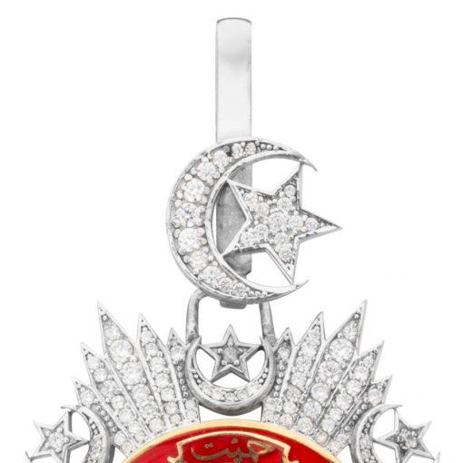 Payitaht Abdulhamid Series Ottoman Order of Mecidiye Medal Brooch