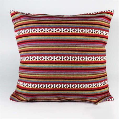 Thin Stripe Rug Pillow Turkish Kilims Pillows Case