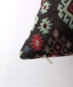 Turkish Kilims Pillows Case Diamond Line Patterned Pillow