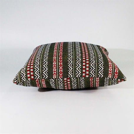 Turkish Kilims Pillows Case Green Red Stripe Rug Pillow