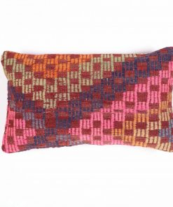 black kilim pillow