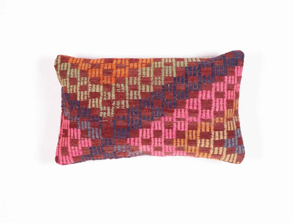 black kilim pillow