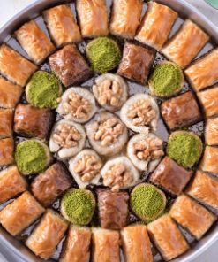 turkish baklava 247x296 - Orange Turkish Delight