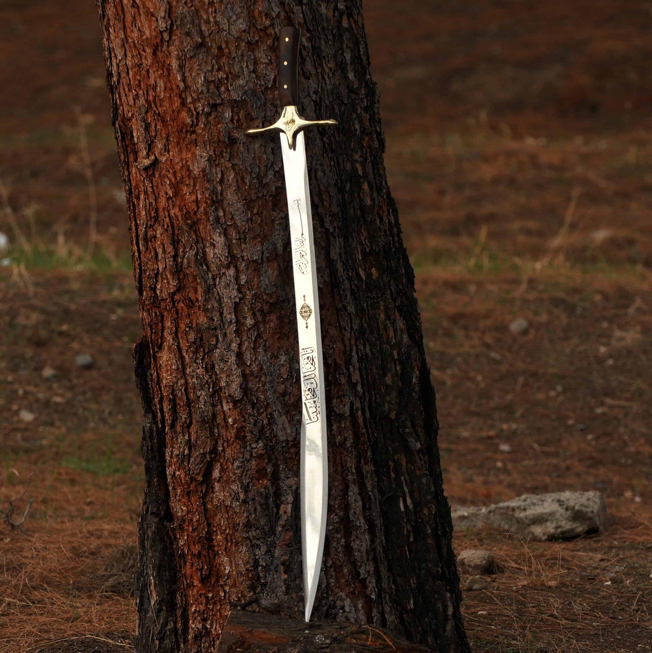 Turkish Kilij Handmade Wooden Sword