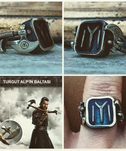 Turgut Alp Axe Rings