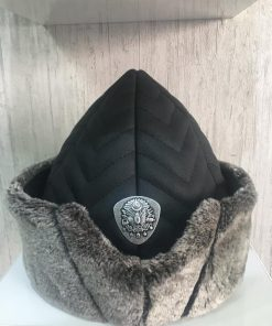 leather alp cap