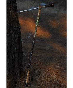Special hand-carved hidden cane sword.